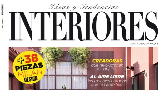 "Magazine ""Interiores"" N°199 - Avril 2017 - Couverture"