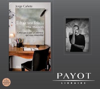 """Dédicace du livre """"Il était une fois… ma maison"""" à la librairie PAYOT à Lausanne"""