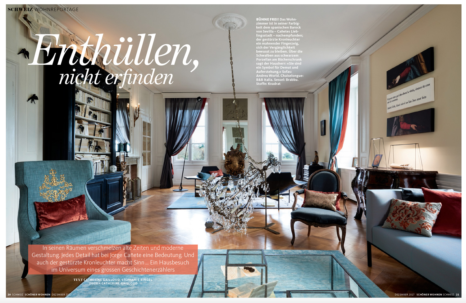 magazine sch ner wohnen page 1 interior design philosophy On magazin schoner wohnen