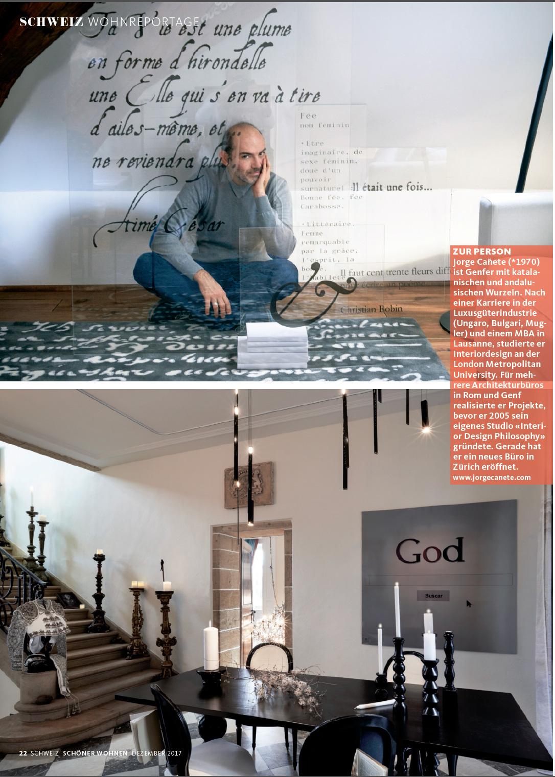 Schöner Wohnen Schweiz magazine schöner wohnen page 2 interior design philosophy