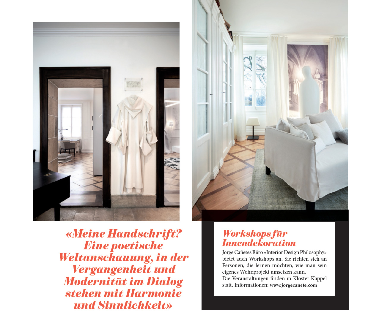 magazine sch ner wohnen page 4 interior design philosophy. Black Bedroom Furniture Sets. Home Design Ideas
