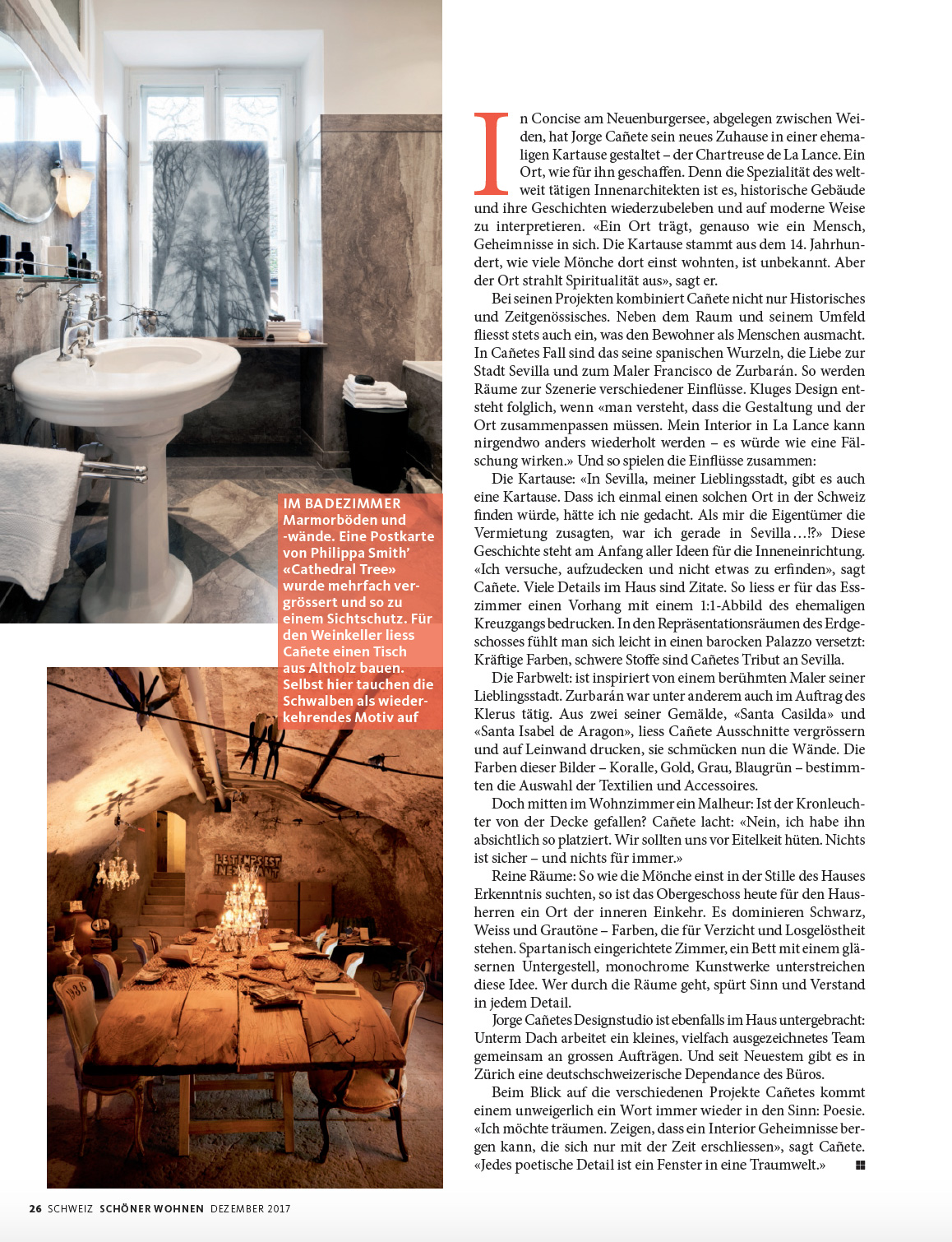 magazine sch ner wohnen page 5 interior design philosophy On magazin schoner wohnen