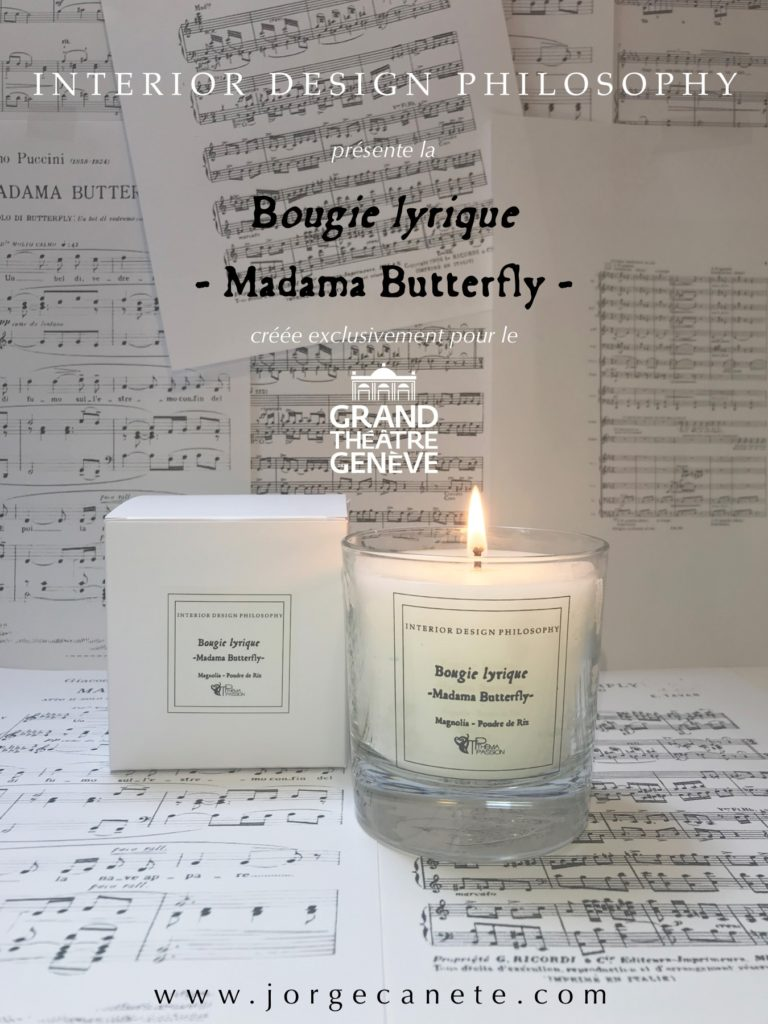 "Bougie ""Madama Butterfly"""