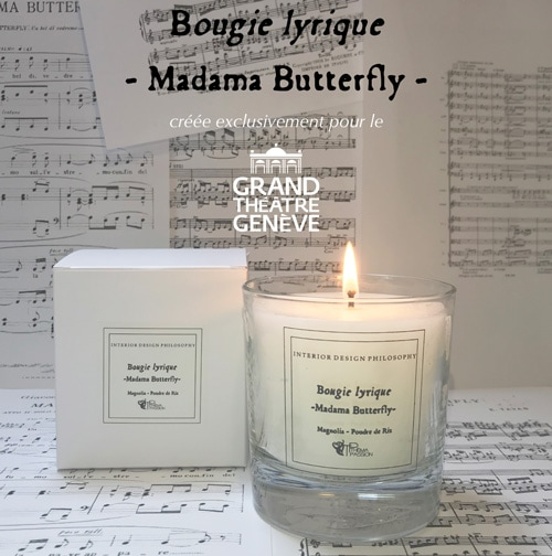 "Bougie ""Madama Butterfly"""