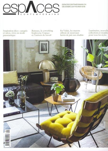 Article paru dans le magazine Espaces Contemporains - page 1