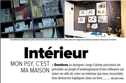"""Le magazine suisse présente le livre """"Il était une fois… ma maison"""" et dévot"""