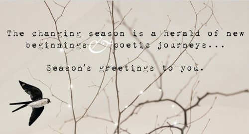 The studio and its team wishes you a poetic & sparkling 2018 to all of you!