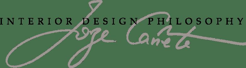 Studio Interior Design Philisophy