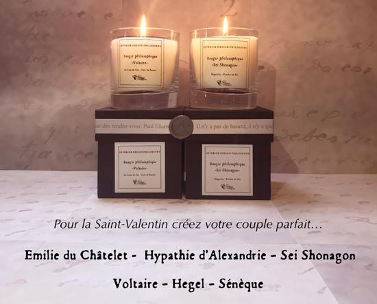 Pour la St-Valentin composez le couple philosophique qui vous inspire en choisissante parmi les 3 femmes et 3 hommes philosophes !