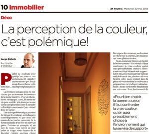 Chronique parue dans la Tribune de Genève et le 24Heures au mois de mai 2018