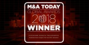 A new award for INTERIOR DESIGN PHILOSOPHY