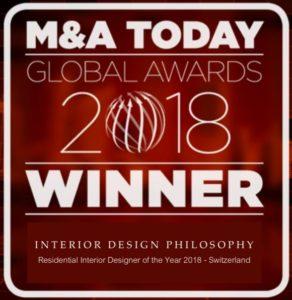 A new award for INTERIOR DESIGN PHILOSOPHY