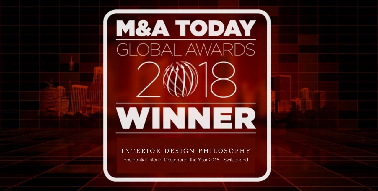 A new award for INTERIOR DESIGN PHILOSOPHY! Interior Design Philosophy