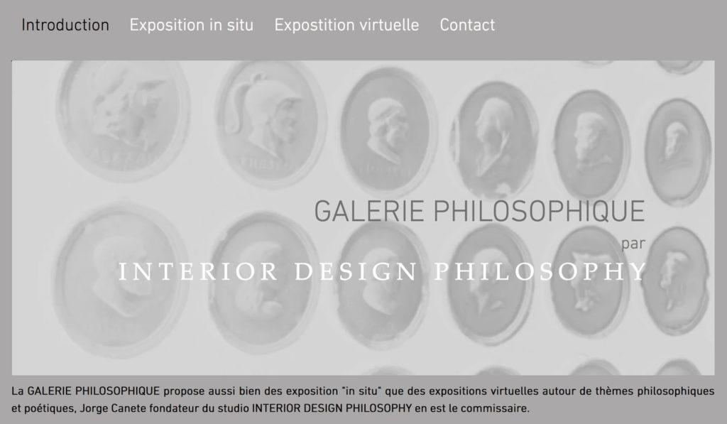Aller sur le site de la Galerie Philosophique