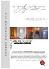 Interior Design Philosophy - Programme des Ateliers - Printemps Eté 2019 (PDF)