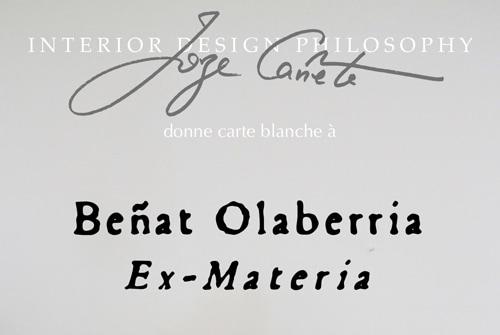 Exposition Ex-Materia par BEÑAT OLABERRIA