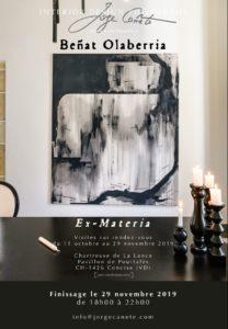 """""""Ex-Materia"""": finissage en présence de l'artiste"""