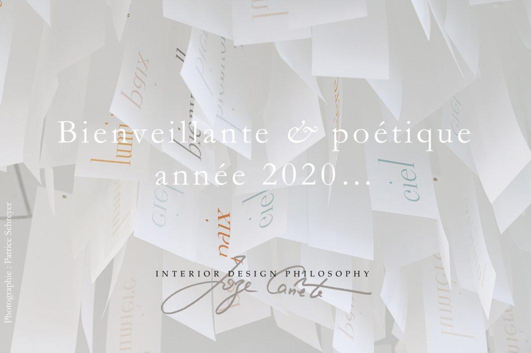 Bienveillante & poétique année 2020