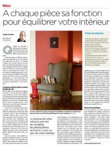 3ème chronique déco dans le 24Heures et dans la Tribune de Genève