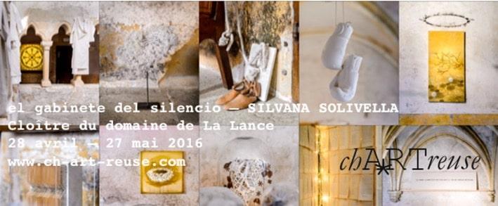 Exposition à la chARTreuse de Silvana Solivella