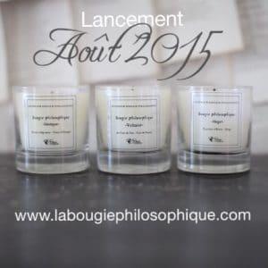 Les bougies philosophiques arrivent
