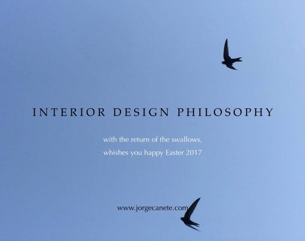 Interior Design Philosophy wishes you happy Easter!