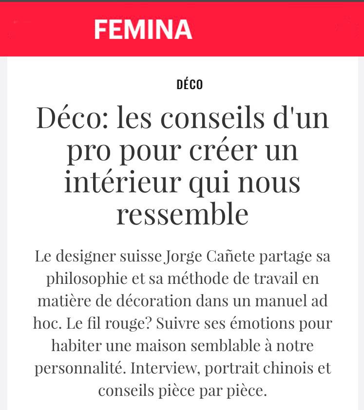 On en parle dans FEMINA
