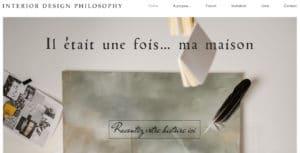 Nouveau site internet - Il était une fois ma maison