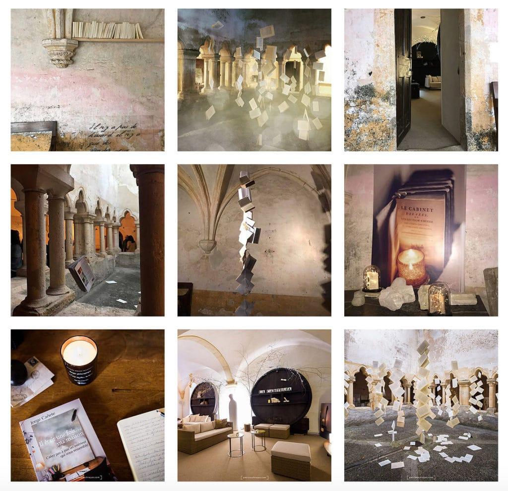 """Photos du lancement du livre """"Il était une fois… ma maison"""" dans le cloître"""