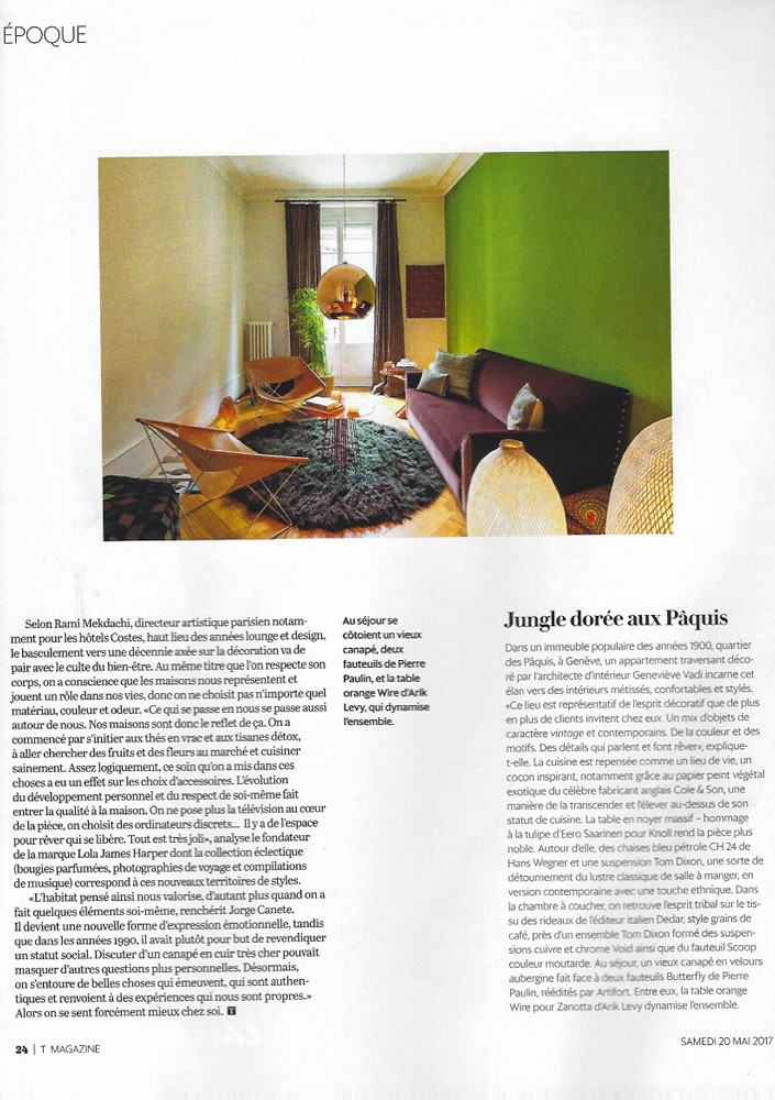 La beaut int rieure interior design philosophy for Magazine architecture interieure