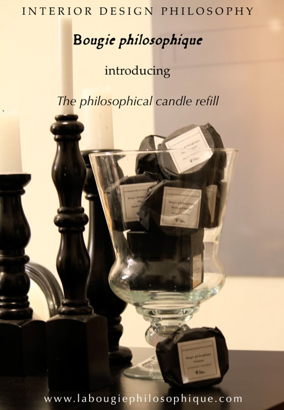 Recharges pour bougies philosophiques