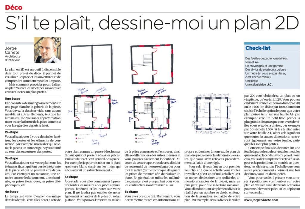 S'il te plaît, dessine-moi un plan!