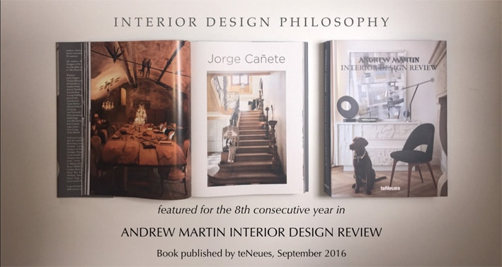 Jorge Canete - Interior Design Review from Andrew Martin released