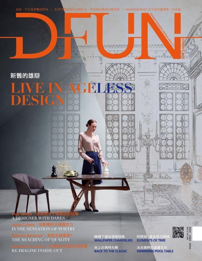 Jorge Canete - Magazine DFUN - Couverture