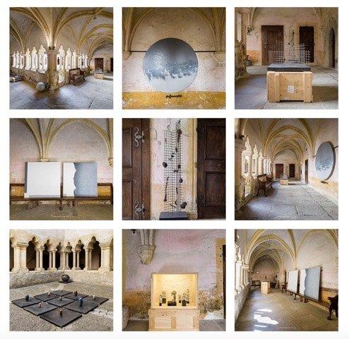 Voici quelques photographies de Patrice Schreyer sur l'exposition de Franklin Chow à la chARTreuse.