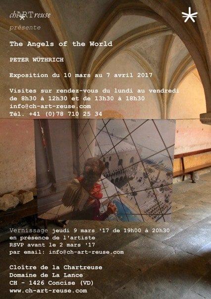 Invitation Exposition Peter Wüthrich et ses anges